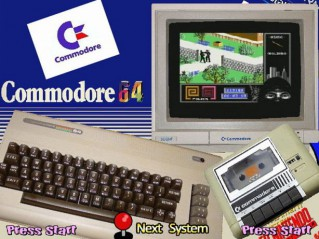 Retro video games – C64-es játékok